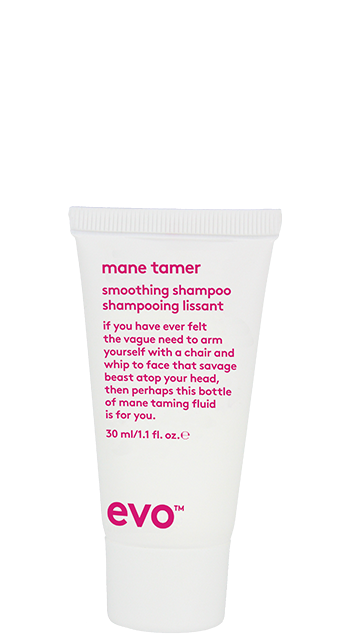 evo mane tamer smoothing shampoo 30ml catalog